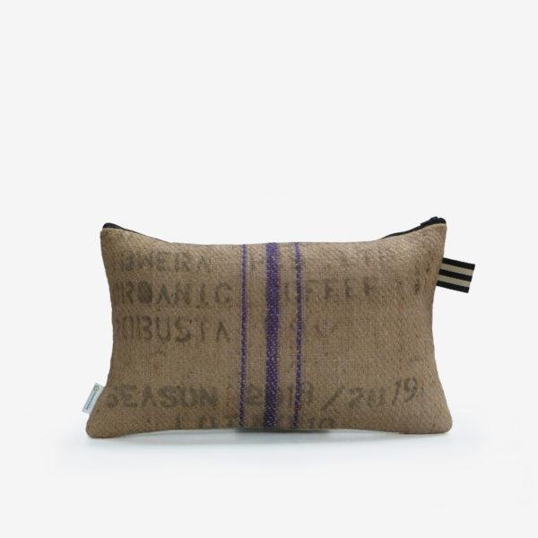 7 Dos de Housse de coussin en sac de transport de café.