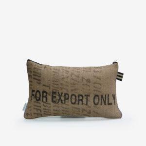 8 Housse de coussin en sac de transport de café