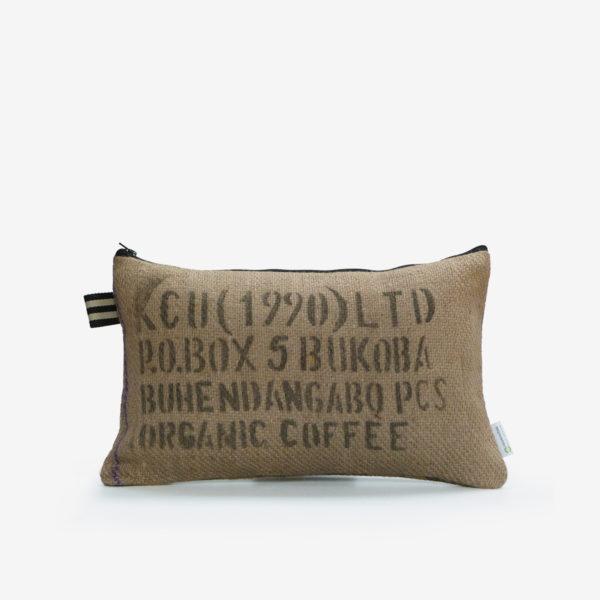 8 Dos de Housse de coussin en sac de transport de café.