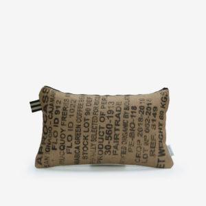 9 Housse de coussin en sac de transport de café