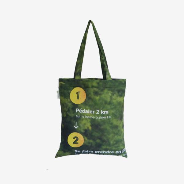 13 tote bag en toile publicitaire nature.
