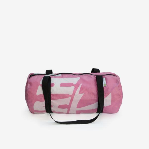 16 sac de sport en toile publicitaire rose