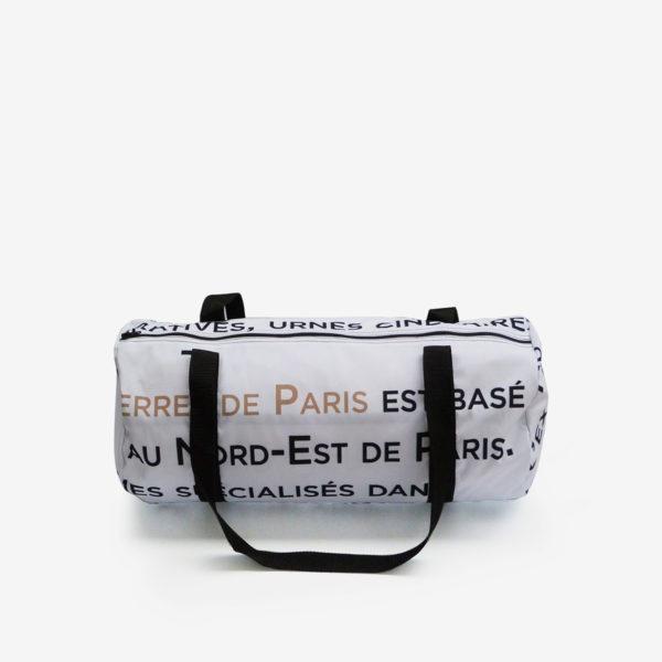 27 sac de sport en toile publicitaire.