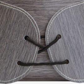 gros plan corbeille en chute de fabrication de sol vinyle.