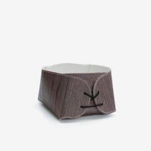 corbeille imitation bois en chute de fabrication de sol vinyle.