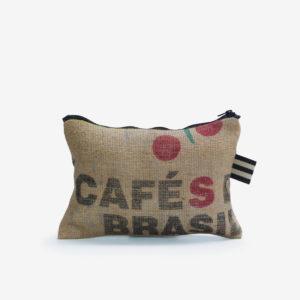 25 Trousse en toile de sac de transport de café .