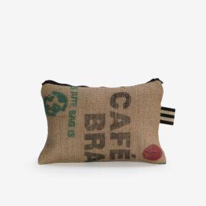 27 Trousse en toile de sac de transport de café