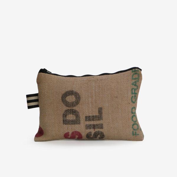 27dos Trousse en toile de sac de transport de café
