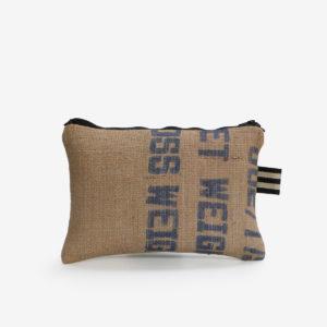 28 Trousse en toile de sac de transport de café