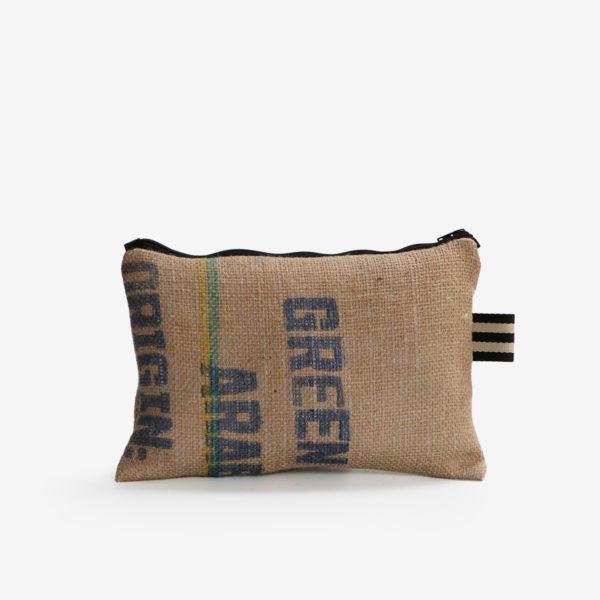 31 Trousse en toile de sac de transport de café