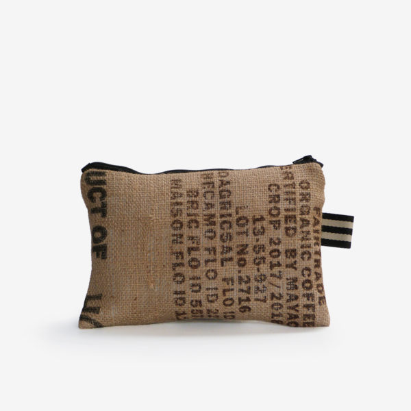 32 Trousse en toile de sac de transport de café