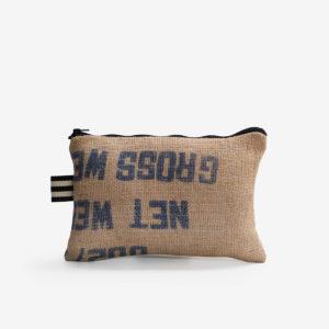 33 Trousse en toile de sac de transport de café