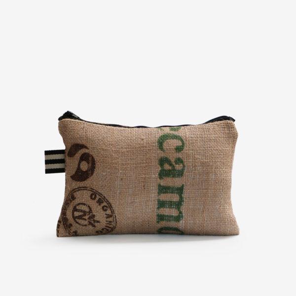 34 Trousse en toile de sac de transport de café