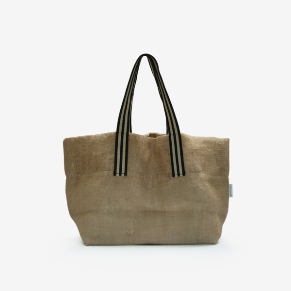 20 dos de Cabas en toile de sac de transport de café . Upcycling et fabrication Française.