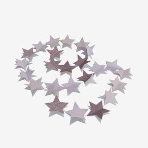 9 Guirlande en chutes de papiers-peints. Une seconde vie pour un upcycling et une économie circulaire.